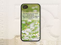 Christian Jeremiah 29.11 phone case iPhone by LilStinkerDesign