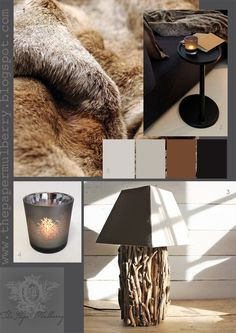 Nicky Dobree interiors | above images 1 fur throw by nicky dobree 2 interior design by ...