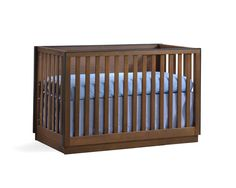"Sevilla ""5-in-1"" Convertible Crib Moldings And Trim, Convertible Crib, Headboards For Beds, Baby Furniture, Double Beds, Metallic Paint, Cribs, Solid Wood, Baby Kids"