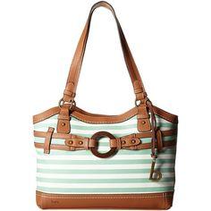 b.o.c. Nayarit Tote Stripe (Mint) Tote Handbags (£21) ❤ liked on Polyvore featuring bags, handbags, tote bags, green, stripe tote, white handbags, white tote bag, mint green purse and striped tote bag