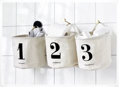 E-boutique lovecreativepeople.com | Paniers 'One Two Three' House Doctor