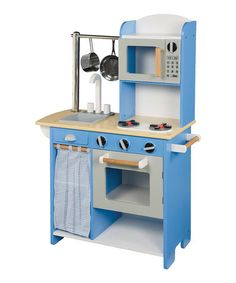 Blue Wood Play Kitchen navy blue play kitchen set | navy, kitchen sets and kitchen?