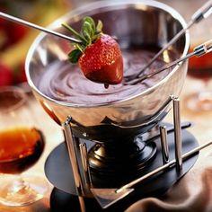Fast mocha fondue