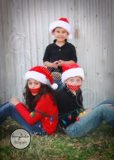Cute Christmas Photo of kids!