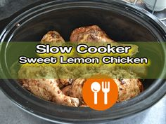 Share10K Pin1K Tweet +11Shares 11KHere's how to prepare a Delicious Sweet Crockpot Lemon Chicken! You'll see, this slow cooker chicken is very easy and quick to prepare… The trick is to use frozen lemonade concentrate. Though for a nice looking presentation, you may want to add few lemon slices on the side of the plates …