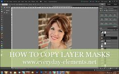 How to copy layer masks in Photoshop Elements | Everyday Elements