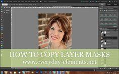 How to copy layer masks in Photoshop Elements via @amandapadgett