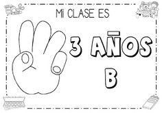 Mi grimorio escolar: SOMOS LA CLASE DE 3 AÑOS B