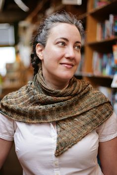 Ravelry: Powell's City of Books Shawl pattern by Star Athena