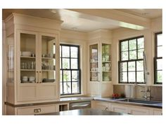 glass fronted and sided cabinetry    interior design musings: Design Perspective - Cantley and Company