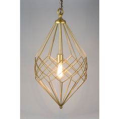 Shop for Gold Wire Pendant Small. Get free shipping at Overstock.com - Your Online Home Decor Outlet Store! Get 5% in rewards with Club O!
