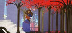 Les flamboyants endormis Illustrations, Painting, Art, Art Background, Painting Art, Kunst, Illustration, Paintings, Gcse Art