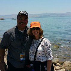 #AmecenIsrael Un saludo de nuestros pastores desde el mar de Galilea. #VidaAmec #Ameccda