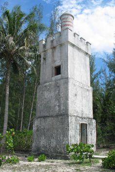 #Lighthouse at Andros Island, #Bahamas