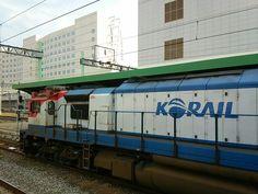 Korea Train. Korail. 코레일 열차