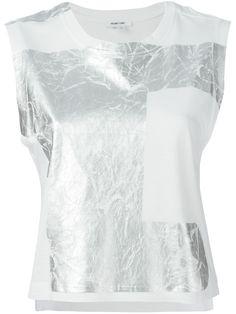 Helmut Lang Foil Printed T-shirt - Jofré - Farfetch.com
