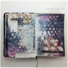 Junk Journal Tutorial + journal spreads