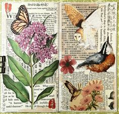 """338 Likes, 9 Comments - Connie Rose (@constancerosedesigns) on Instagram: """"#constancerosedesigns #collage #collagejourney #collageartist #artjournal #mtn…"""""""