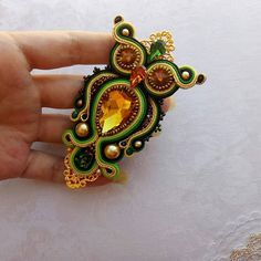 Soutache Jewelry, Beads And Wire, Shibori, Beaded Embroidery, Hummingbird, Gemstone Rings, Owl, Butterfly, My Style
