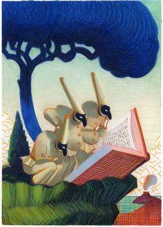 L'illustration de l'affiche de la Comédie du Livre 2016 réalisée par le dessinateur italien Lorenzo Mattotti !