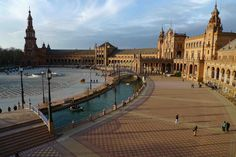 Plaza de España, Seville, Spain