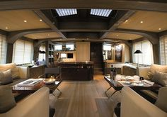 Super yacht interior