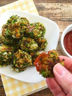 Healthy Baked Broccoli Bites Recipe