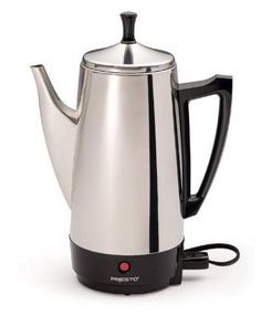 Presto 02811 12 Cup Stainless Steel #Coffee #Maker: Sale Price: $37.99. Looking for something that makes almost scalding hot coffee.