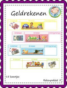 Rekenenpakketten voor groep 3 – Weg van onderwijs Spelling, Euro, Dutch, Stage, Kids, Children, Boys, Dutch Language, Children's Comics