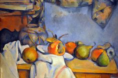 Paul Cezanne - Ginger Pot with Pomegranate and Pears, 1893