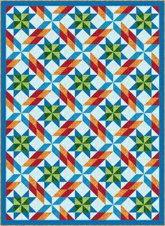 Carnival Pinwheels Quilt Pattern