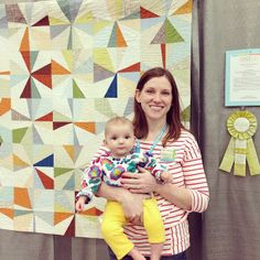 Off the BOW by Spotted Stone Studio {Krista}, via Flickr - such a cool quilt!