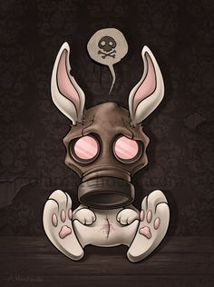 Toxic Bunny by aleksandracupcake on DeviantArt