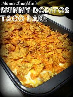Mama Laughlin: Skinny Doritos Taco Bake