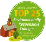 UNH was named by the Kaplan College Guide as a top 25 environmentally responsible college.