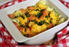NOSALTY: Virslis karfiol sajtszósszal