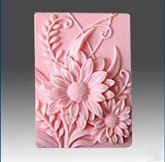 Sunflower Soap Mold Mould Silicone Mold Flexible Mold Cake Mold