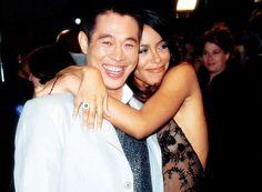 Aaliyah and Jet Li