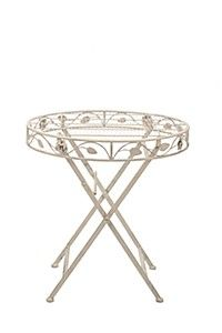 VINTAGE ROSE PATIO TABLE