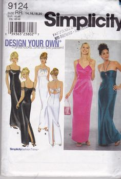 Simplicity Dress Patterns | Like this item?