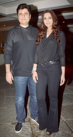 Sonali Bendre and Goldie Behl at their anniversary bash. #Bollywood #Fashion #Style #Beauty