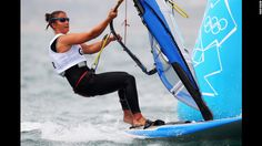 Olympics 2012 ~ Bryony Shaw represents Great Britain in the women's sailing competition.