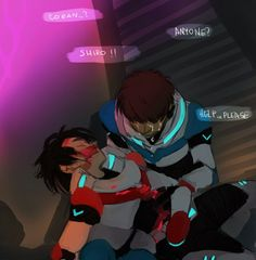 "VLD fanart - Lance & Keith ""Stay with me"" (why would you hurt me like THIIIS?!)"
