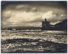 Worden, Willard E.:   Cliff House, San Francisco   c1904..    1 photographic print ;  10 1/2 x 13 1/4 in..  Cliff House