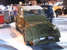 The Citroen 2cv prototype