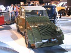 The Citroen 2cv prototype