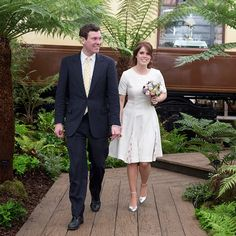 "On January 22, Buckingham Palace confirmed: ""The Duke and Duchess of York are delighted to announce the engagement of Princess Eugenie to Mr Jack Brooksbank. Her Royal Highness and Mr Jack Brooksbank became engaged in Nicaragua earlier this month. The wedding will take place in the autumn of 2018 at St George's Chapel in Windsor, with further details to be announced in due course."""