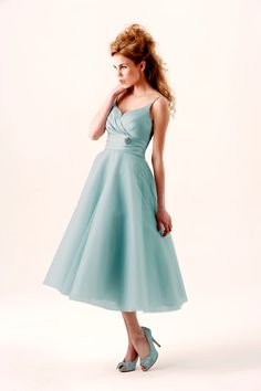 Glorious 50s Vintage - Short Dresses - Not Another Boring Bridesmaid Dress - NABBD
