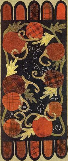 Gourd Harvest Wool Applique project is next on my list.