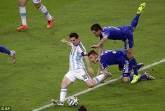 Argentina 2-1 Bosnia World Cup 2014